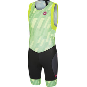 Castelli Short Distance Race Suit Men pro green/black